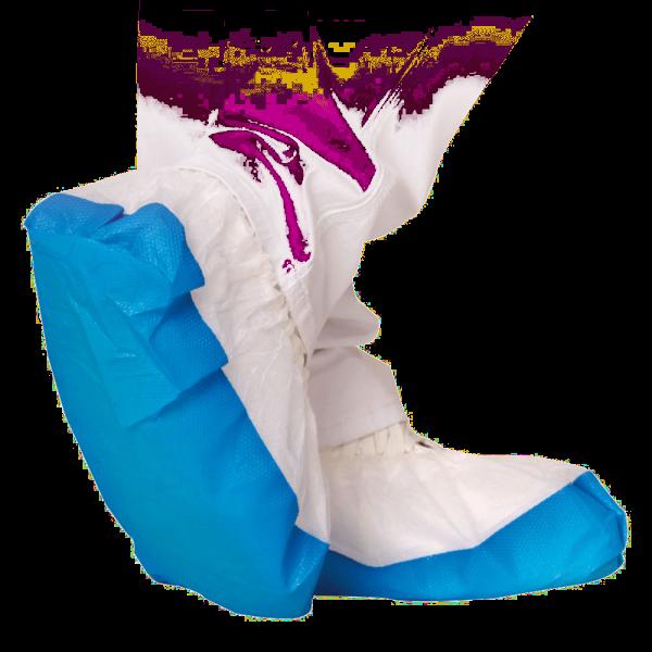 Überschuh PERFECTLY SAFE 40 cm, weiß-blau