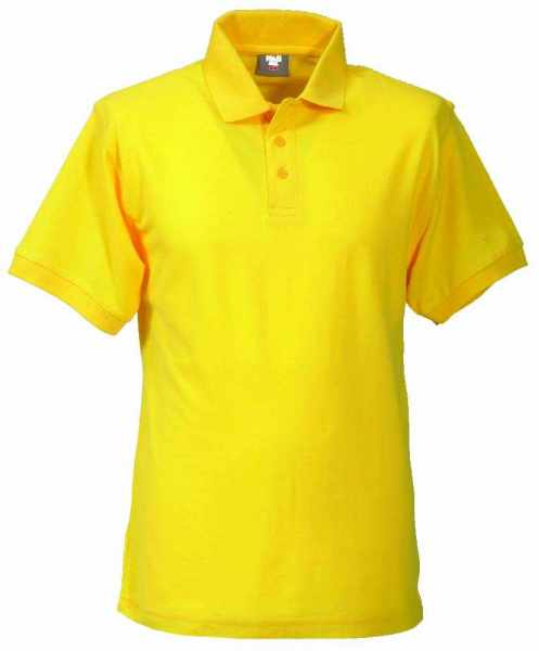 Unisex Polo-Shirt gelb XS - 5XL