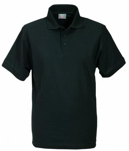 Unisex Polo-Shirt schwarz XS - 5XL