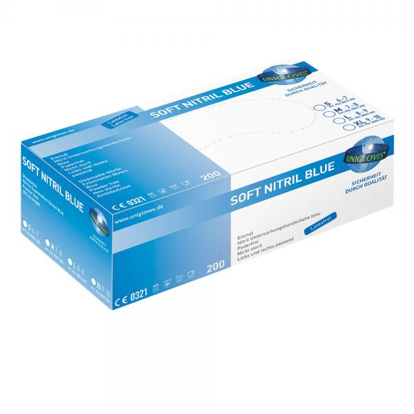 Nitrilhandschuhe Soft Nitril blue 200