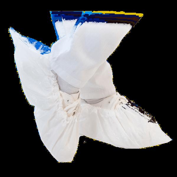 Überschuh ANTI SLIDE 41 cm, weiß