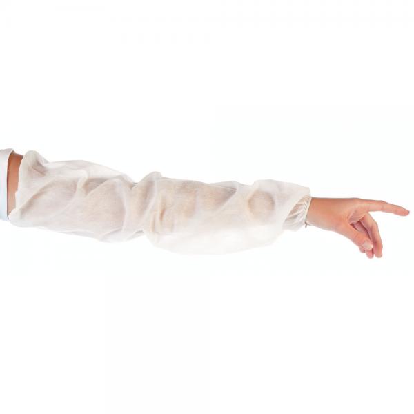 Schutzärmel PP extra lang weiss 60 cm