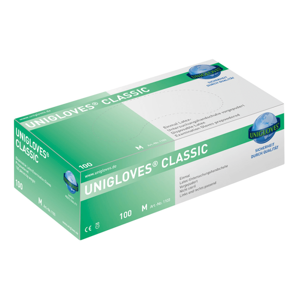 Latexhandschuhe gepudert CLASSIC - BOX