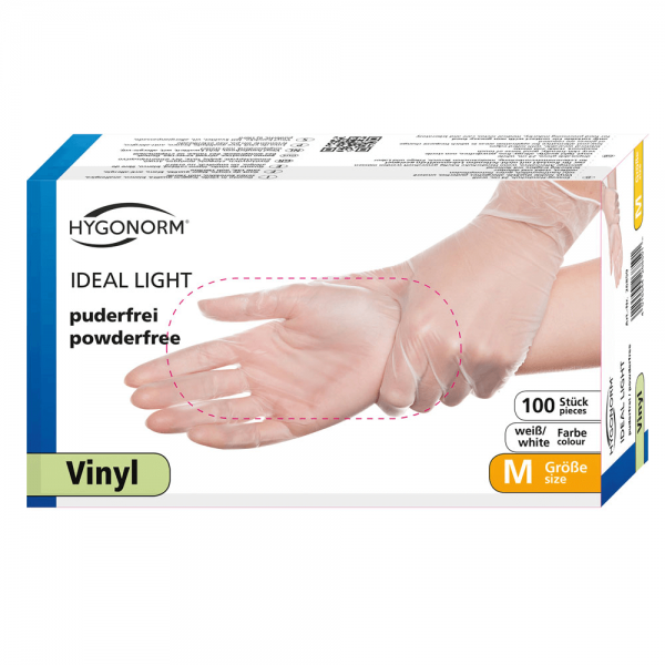 Vinylhandschuhe IDEAL LIGHT, puderfrei - Box