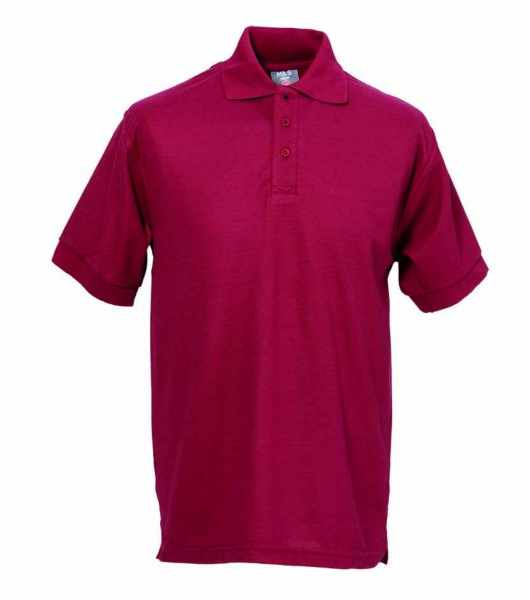 Unisex Polo-Shirt bordeaux FAPAK