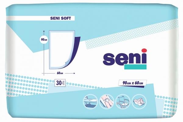 Seni Soft Krankenunterlagen 90 x 60 cm - 50 Stck.