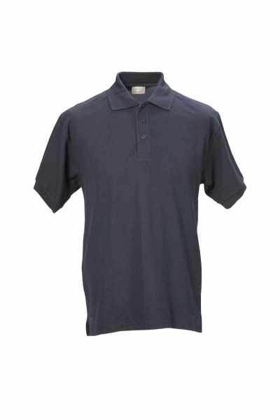 Unisex Polo-Shirt marineblau