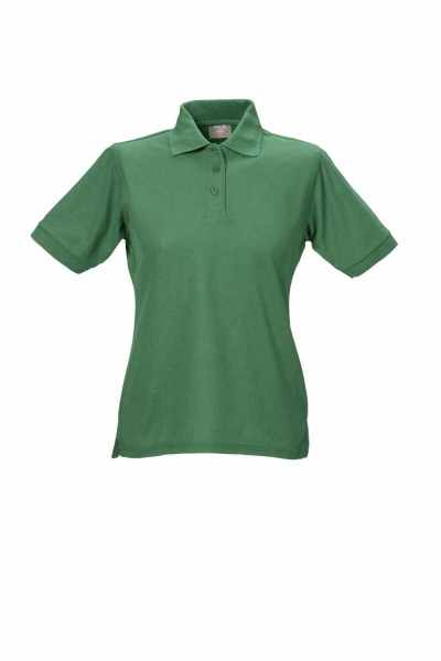 Damen Polo-Shirt grün XS - 5XL