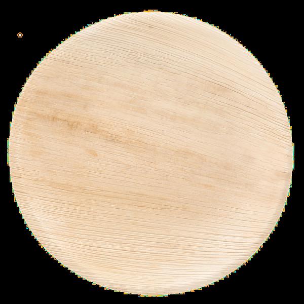 Teller flach, rund Ø 20 x 2 cm, natur