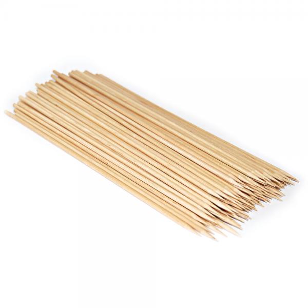 Bambus-Schaschlikspieße natur 25 cm Ø 3 mm von NATUREStar - VE 10x1000 Stck