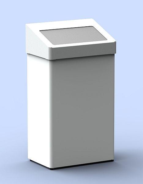Abfallbehälter mit selbstschließender Klappe 60 Liter