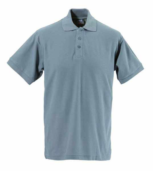 Unisex Polo-Shirt grau XS - 5XL