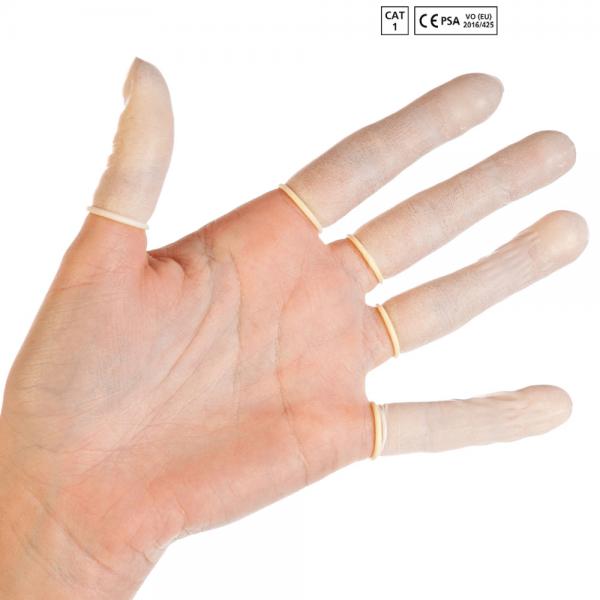 Latex-Fingerlinge | puderfrei