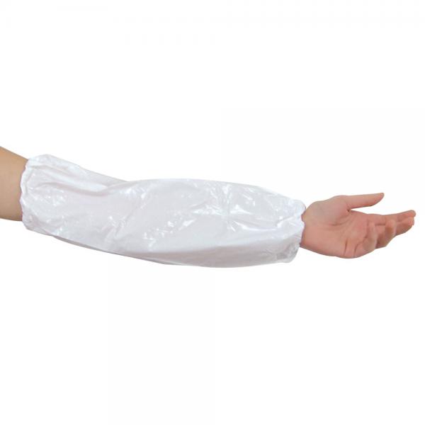 Schutzärmel VINYL weiß 46 cm