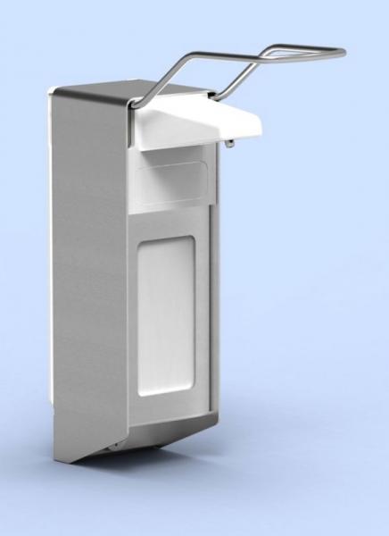 UNIversal-Spender für 500-ml-Flaschen langer Hebel abschließbar