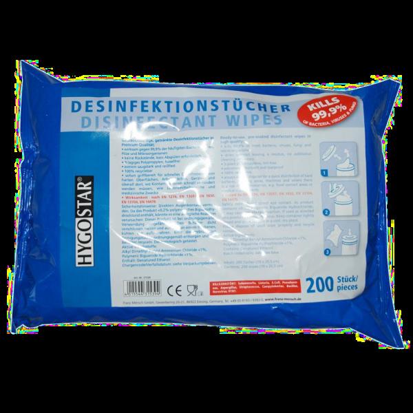 Desinfektionstücher für Oberflächen und Gegenstände