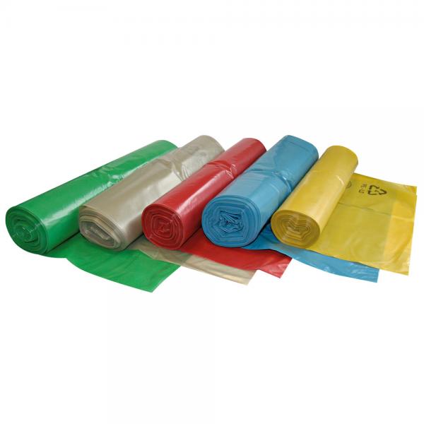 LDPE Müllbeutel 120 l auf Rolle grün