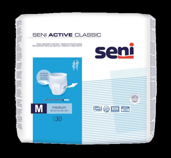 Seni Active Classic Inkontinenzslip, Gr. M weiß