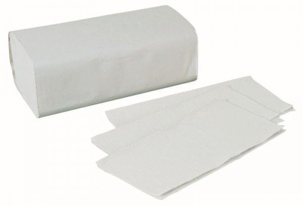 Papierhandtücher 2-lagig hochweiß Zick-Zack-Falz