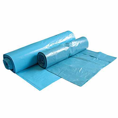 Müllbeutel LDPE, Typ 60, 40 my, blau, 70 l - 250 Stck