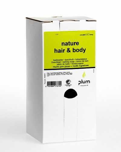 Cremeseifen Nature Hair & Body, 1,4 L bag-in-box - PLUM