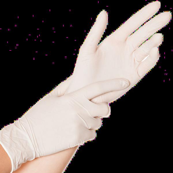 Latex-Handschuh SENSE, puderfrei, 24 cm, natur