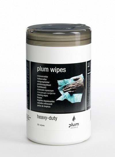 Plum Wipes Heavy-Duty 50 Stk/Box - PLUM