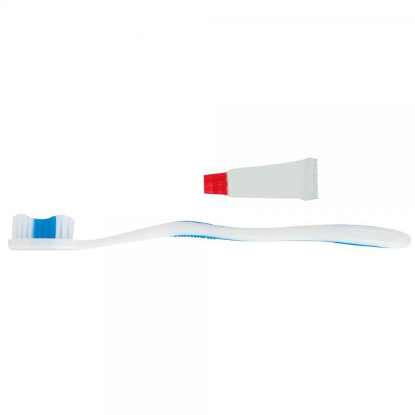 Zahnpflege-Set 2-teilig weiß