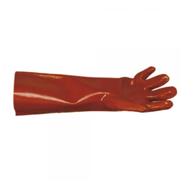 Vinyl-Handschuhe CYBER rot