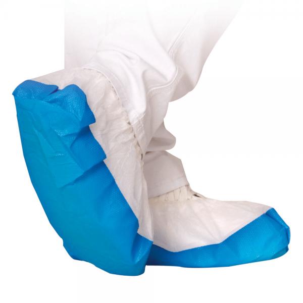 Überschuhe SAFE weiß-blau