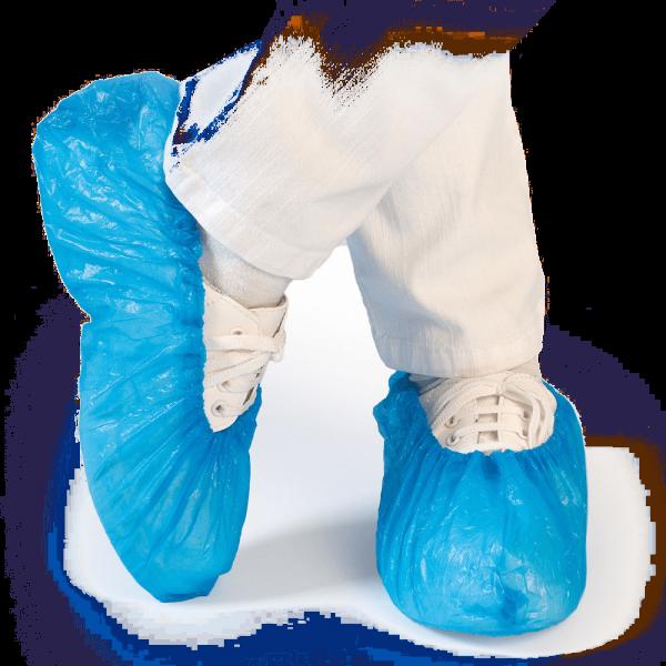 Überschuh STANDARD, ca. 25 my, 41 cm, blau