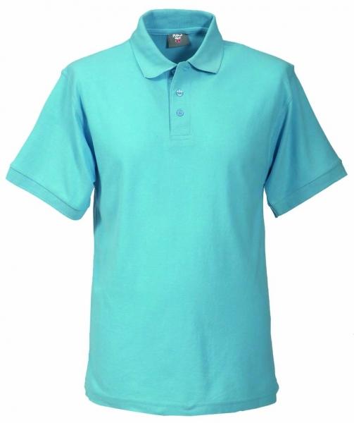 Unisex Polo-Shirt himmelblau XS - 5XL