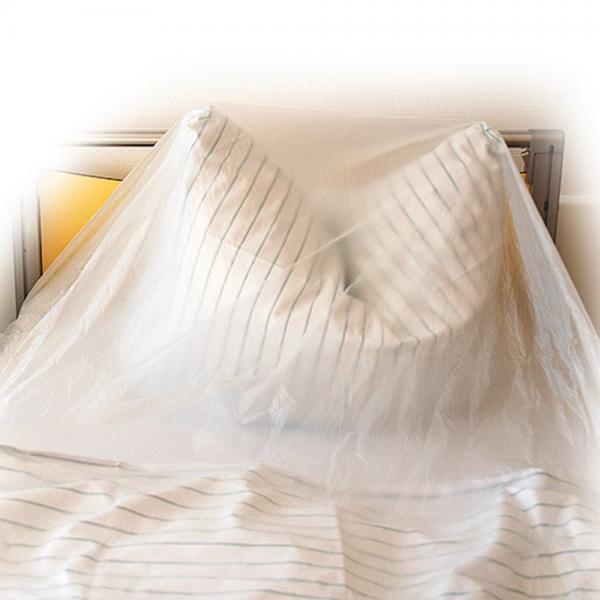 Bettenhüllen transparent