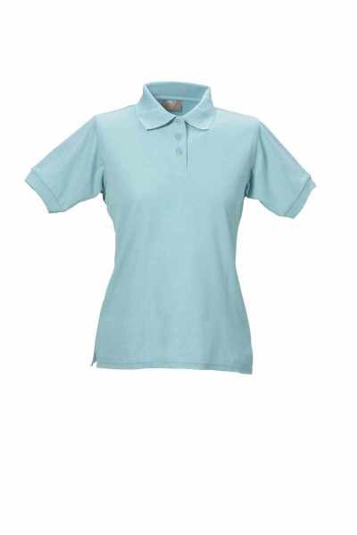 Damen Polo-Shirt türkis XS - 5XL