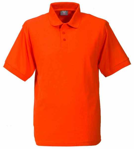 Unisex Polo-Shirt orange XS - 5XL
