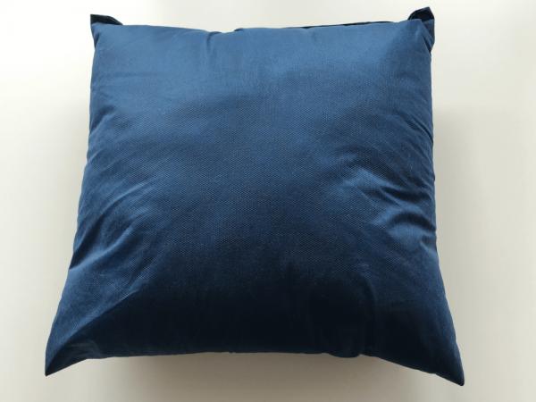 Einmalkissen 40 x 40 cm blau