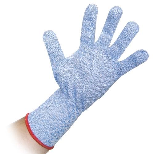 Schnittschutz-Handschuh blau