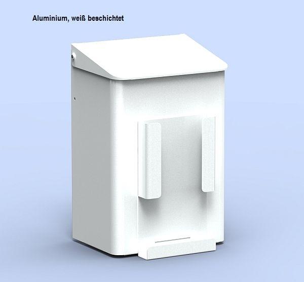 Abfallbehälter mit Hygienebeutelhalter für Papiertüten 6 Liter