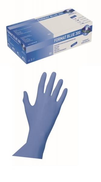 Nitrilhandschuhe Format Blue 300