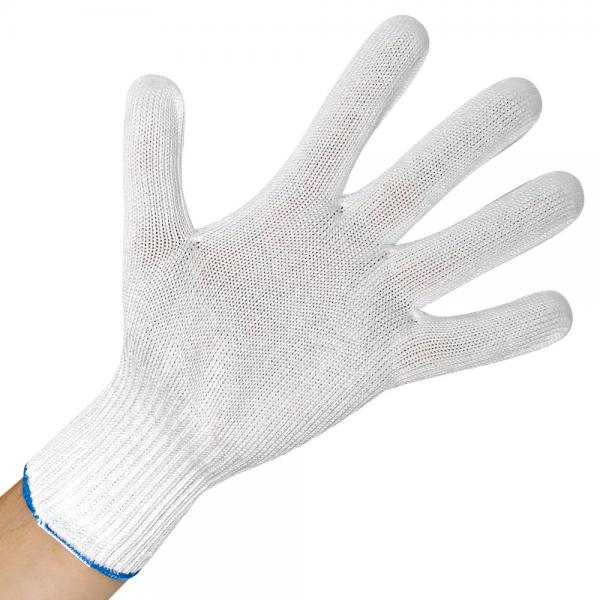 Schnittschutz-Handschuh ALLFODD BASIC weiß XL