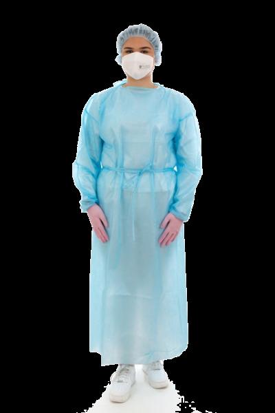 Schutzkittel blau
