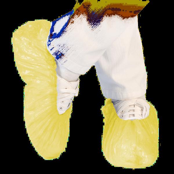 Überschuh STANDARD, ca. 40 my, 41 cm, gelb