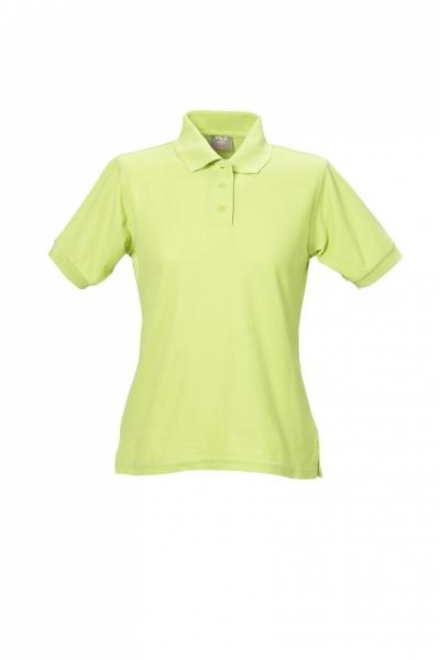 Damen Polo-Shirt apfelgrün