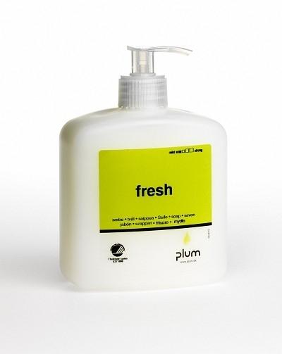 Cremeseifen Fresh, 500 ml Pumpflasche - PLUM