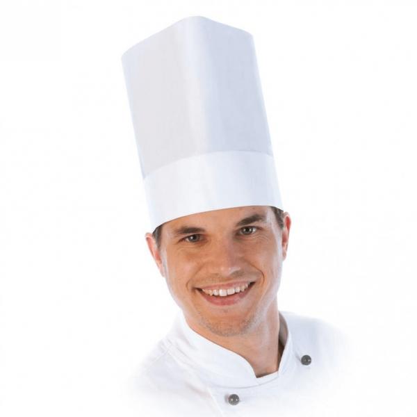 Kochmütze EXTRAKLASSE, verstellbar, 22 cm, weiß