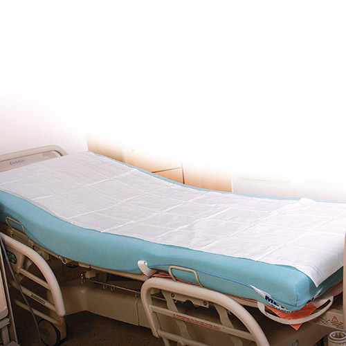 Einmal-Tragen-Laken weiß mit 17 Fäden 200 x 100 cm von HYGOSTAR - VE 150 Stck