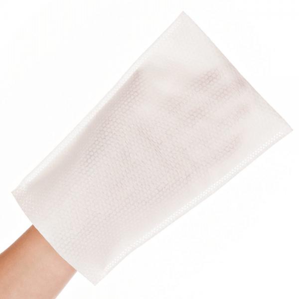 Waschhandschuh SOFT 22 x 15 cm weiß