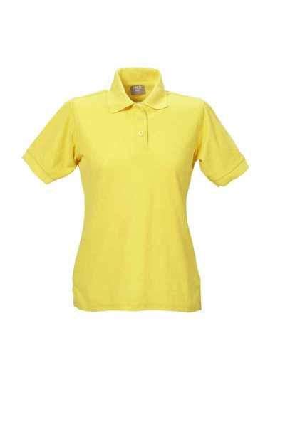 Damen Polo-Shirt gelb