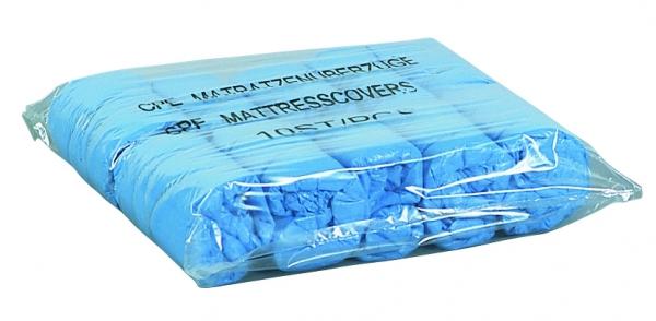 Matratzenschutz blau