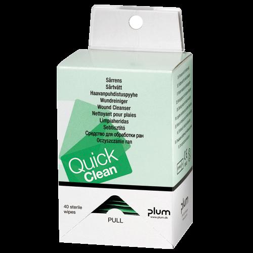 Plum QuickClean 5550 Wundreinigungstücher in Spenderbox